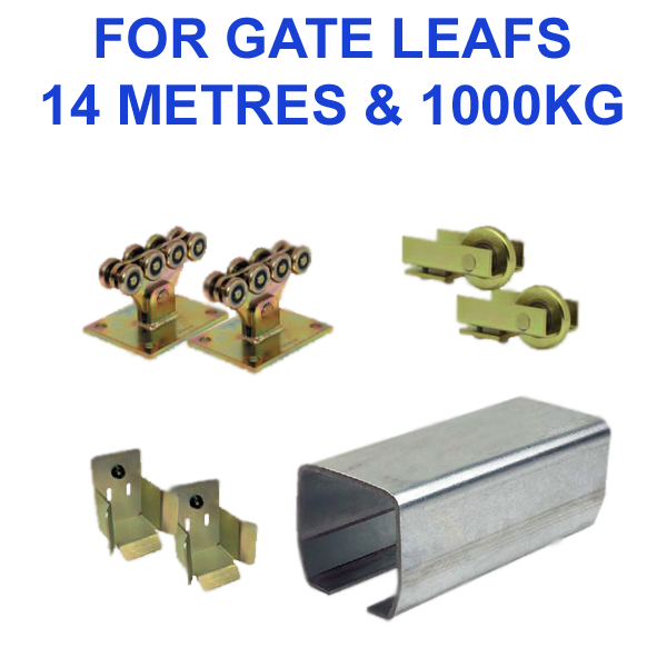 14 Metres X 1000kg Sliding Gate Kit