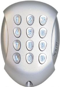 galeo 1 external digital keypad. Black Bedroom Furniture Sets. Home Design Ideas